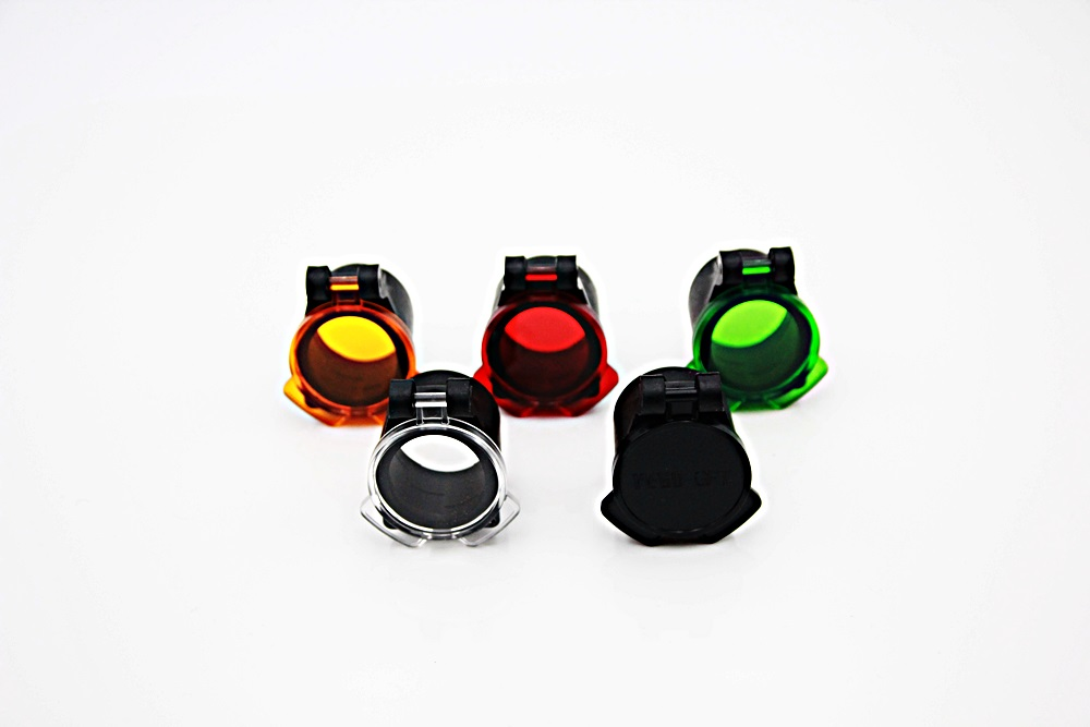 Hunterfox-Objektivschutz mit Farbfilter 30mm