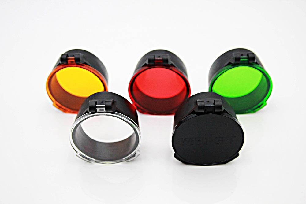 Hunterfox-Objektivschutz mit Farbfilter 62mm